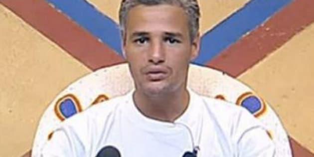 """Farid Khider dans """"La Ferme Célébrités"""" en 2010."""