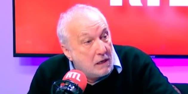Le coup de gueule de François Berléand sur RTL.