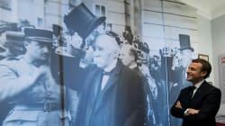 Macron et le symbole à double tranchant de Clemenceau, auquel il rend hommage en