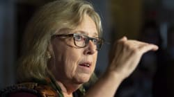 Elizabeth May Knocks Tory Leader's Climate Stance As 'Cowardly