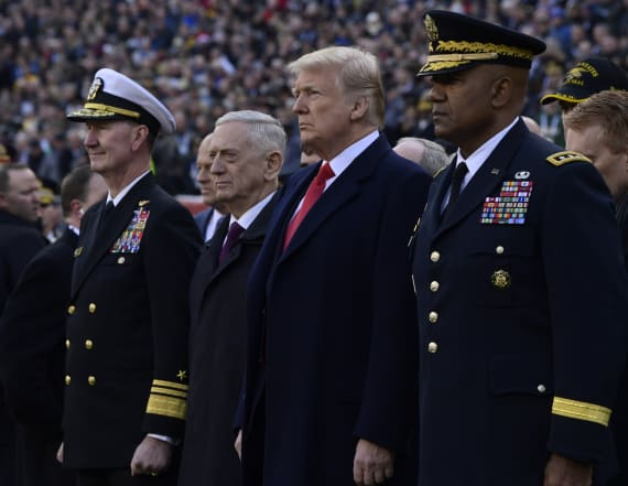 President Trump planning to attend Army-Navy game