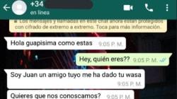 Intenta ligar con una chica por WhatsApp y el espantoso ridículo ya es viral en