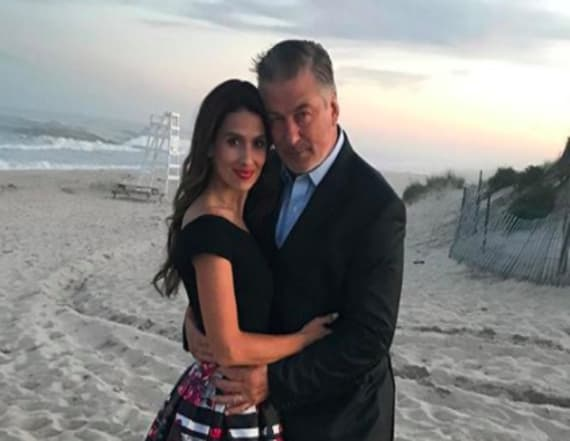 Alec Baldwin and wife share makeout video