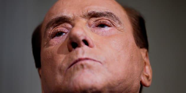 Silvio Berlusconi, líder de Forza Italia, retratado en el Palacio del Quirinale de Roma, el pasado 12 de abril.