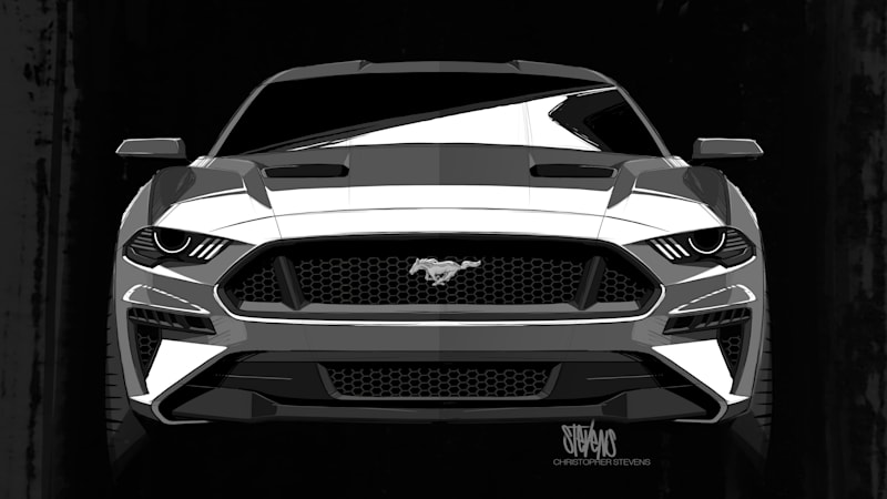 Darth Vader Inspired The 2018 Mustang Ford Designer Says