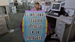 El diario venezolano El Nacional es presionado a salir de circulación