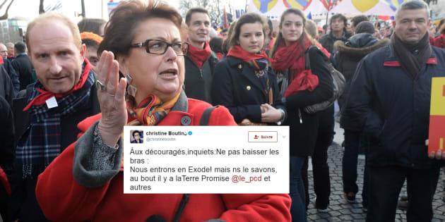 """Résultats législatives 2017: Christine Boutin voit en ces élections le début de l'""""Exode"""" (et la Terre Promise au bout)"""