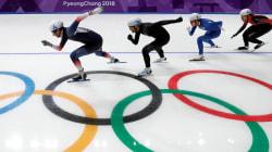 Départ groupé en patinage de vitesse longue piste: Morrison 12e, Jean
