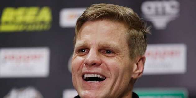 Riewoldt announces he's nicking off earlier this week.