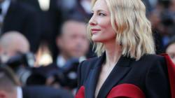 Cate Blanchett a mis le paquet (cadeau) pour ce dernier tapis