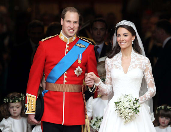 Duchess Kate wore a second dress on her wedding day