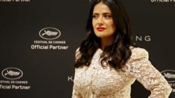 À Cannes, Salma Hayek demande aux acteurs de faire un effort pour aider l'égalité