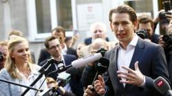 Autriche: le jeune conservateur Sebastian Kurz remporte les