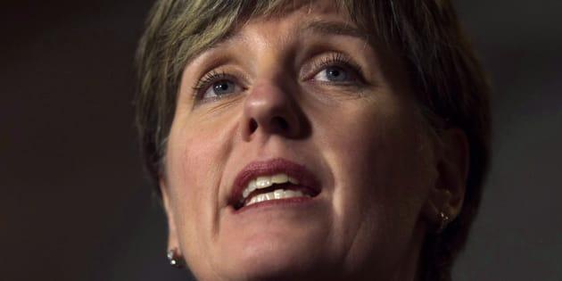 La ministre du Développement international, Marie-Claude Bibeau.
