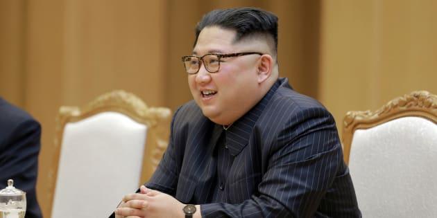 Kim Jong Un à Pyongyang le 9 mai 2018.