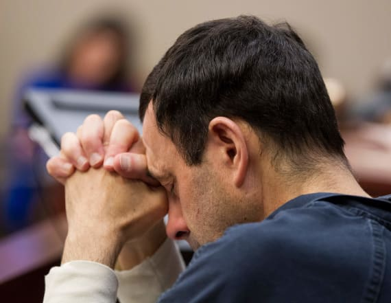 Nassar complains it's too hard to listen to victims