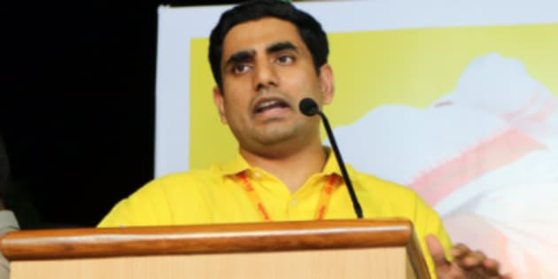 """""""It is quite possible that TDP's Lokesh Nara fears going the Rahul Gandhi way."""""""