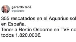 La aplaudida reflexión sobre Bertín y los refugiados: 7.000 'me gusta' en tres