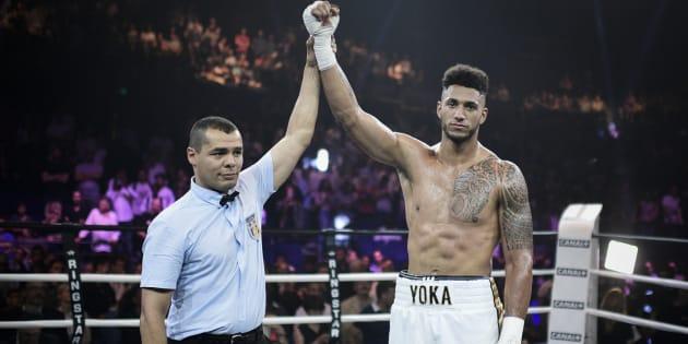 Tony Yoka débarque dans la cour des grands après un combat expédié en deux rounds.