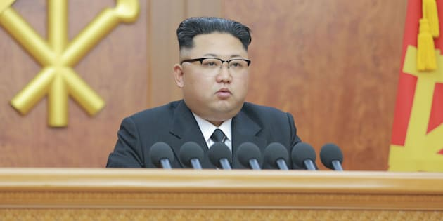 "Kim Jong Un delivered a New Year's address in Pyongyang, North Korea, on Sunday, during which he said the country was in the ""last stage"" of developing an intercontinental ballistic missile."