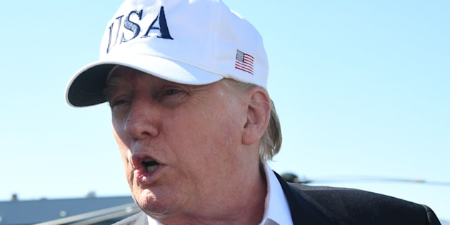 Donald Trump dans le New Jersey le 8 juillet 2018.