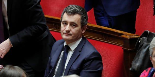 Gérald Darmanin à l'Assemblée nationale le 30 janvier.