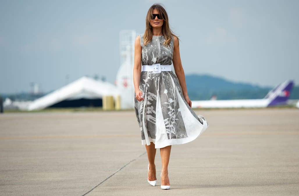 236c55c3f6 A history of Melania Trump s most controversial outfits - AOL Lifestyle