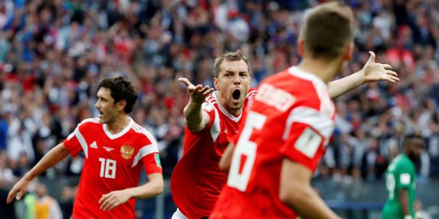 Rusia inició con el pie derecho el Mundial 2018 contra Arabia Saudita.