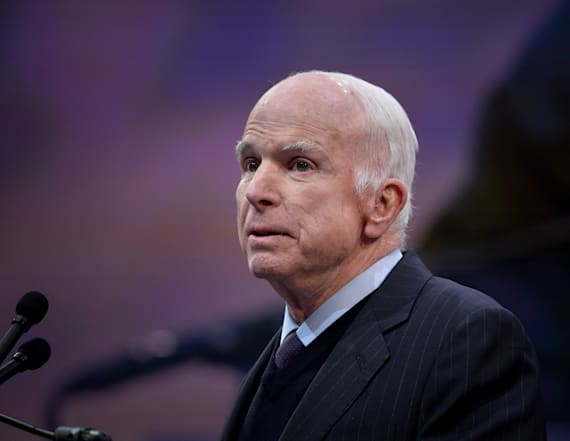 McCain takes indirect shot at Trump for famous move
