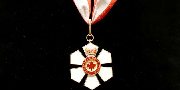 Britain's Prince Charles' Order of Canada is pictured, before being presented to him, at Rideau Hall in Ottawa, Ontario, Canada July 1, 2017.