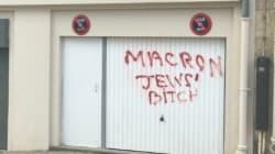 Une série d'inscriptions antisémites à Paris suscite