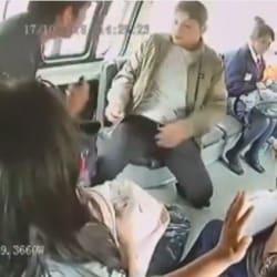 Video de asalto en Edomex retrata de cuerpo entero la inseguridad en el transporte