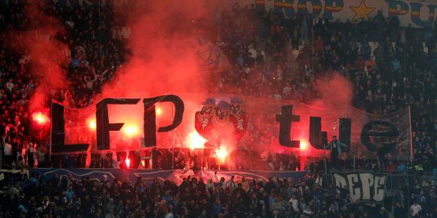 Marseille-Bordeaux: le tifo payé par Netflix annulé après la grogne des supporters.