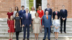 El significativo detalle en esta foto de la familia Real que no se ve desde hace cuatro