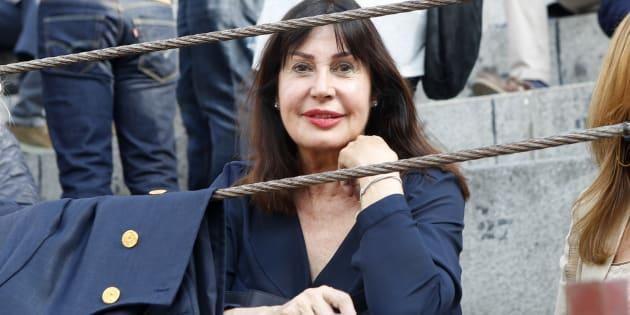 Carmen Martínez-Bordiú Franco, durante la Feria de San Isidro 2018.