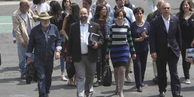 Ochoa Reza intercambia experiencias con expresidentes del PRI