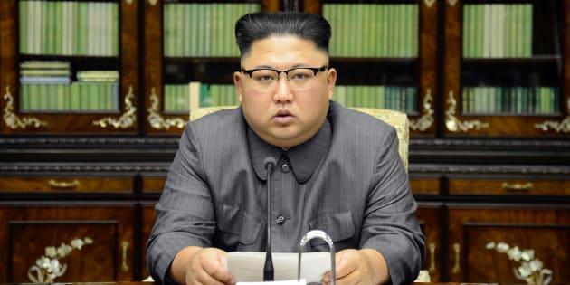 """La Corée du Nord accuse  Trump de lui avoir """"déclaré la guerre""""."""