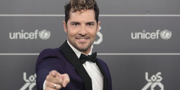David Bisbal en Los 40 Music Awards 2018.