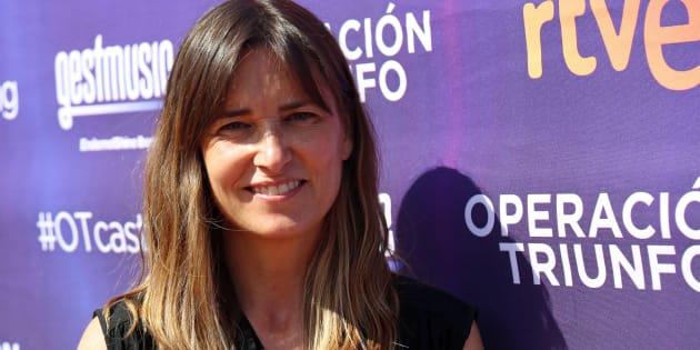 Noemí Galera, durante el 'casting' de 'Operación Triunfo' en Barcelona el 14 de junio de 2017.