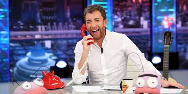 El presentador Pablo Motos durante el 'El Hormiguero'.