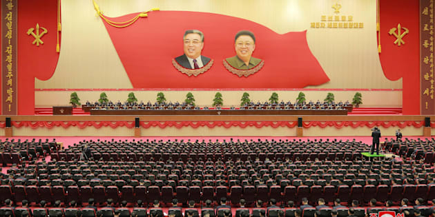 The second day of 5th Conference of Cell Chairpersons of the Workers' Party of Korea (WPK) is held on Dec 22 in this photo released by North Korea's Korean Central News Agency (KCNA) in Pyongyang December 23, 2017.