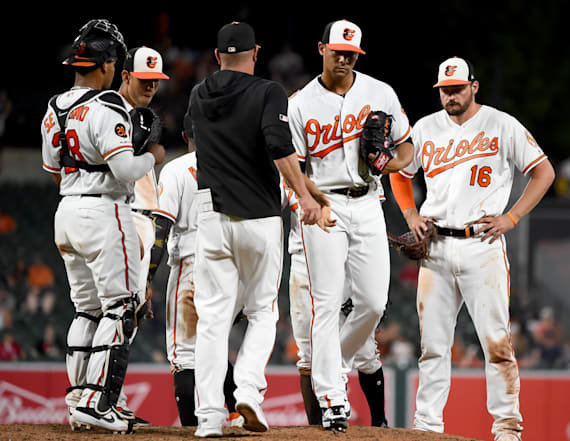 Baltimore Orioles set undesirable MLB record