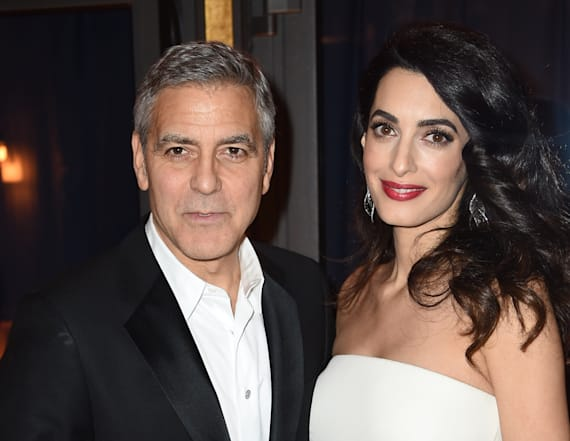 Clooneys to donate $500,000 after Florida shooting
