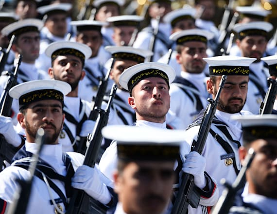 Dozens killed in Iran military parade attack