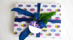 This Eco-Friendly Wrapping Paper Will Help You Go Green For The