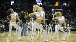 Los Spurs, primer equipo de la NBA cambiar sus animadoras por un grupo
