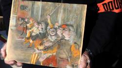 Ritrovato su pullman quadro di Degas rubato nel