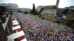 Maratona di Roma, l'orizzonte di gloria dei