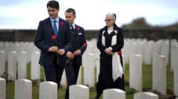 Trudeau rend hommage aux soldats canadiens à