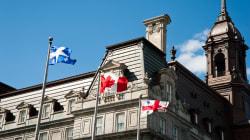 Montréal donnera préséance au drapeau